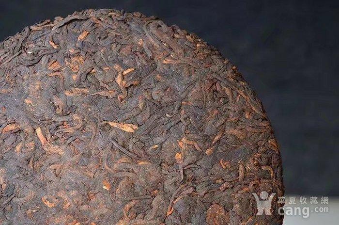 收藏品 2009年八年臻品云南普洱熟茶357克七子饼纯正勐海味茶叶一饼图5