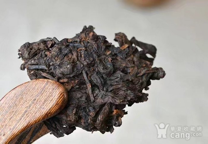 收藏品 2009年八年臻品云南普洱熟茶357克七子饼纯正勐海味茶叶一饼图7