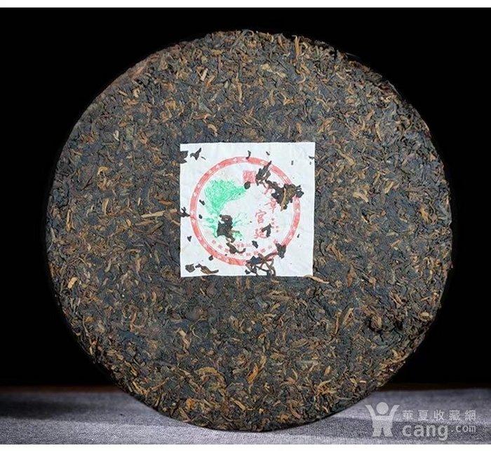 2006年班章宫廷云南普洱茶熟茶饼老班章357g图3