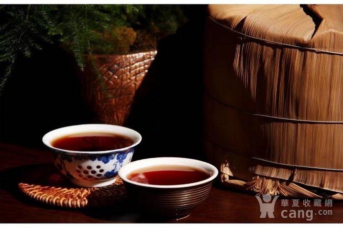 2006年班章宫廷云南普洱茶熟茶饼老班章357g图8