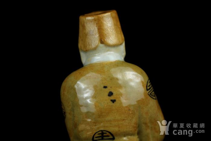 7民国粉彩八仙人物纹瓷塑图8