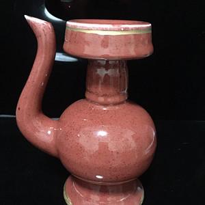釉里红酒壶