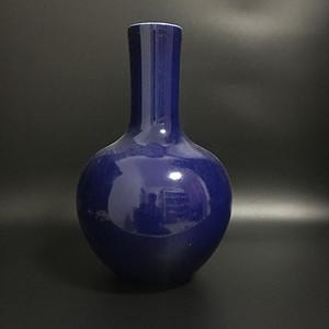 宝石蓝天球瓶