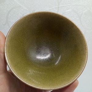 茶叶末盏碗