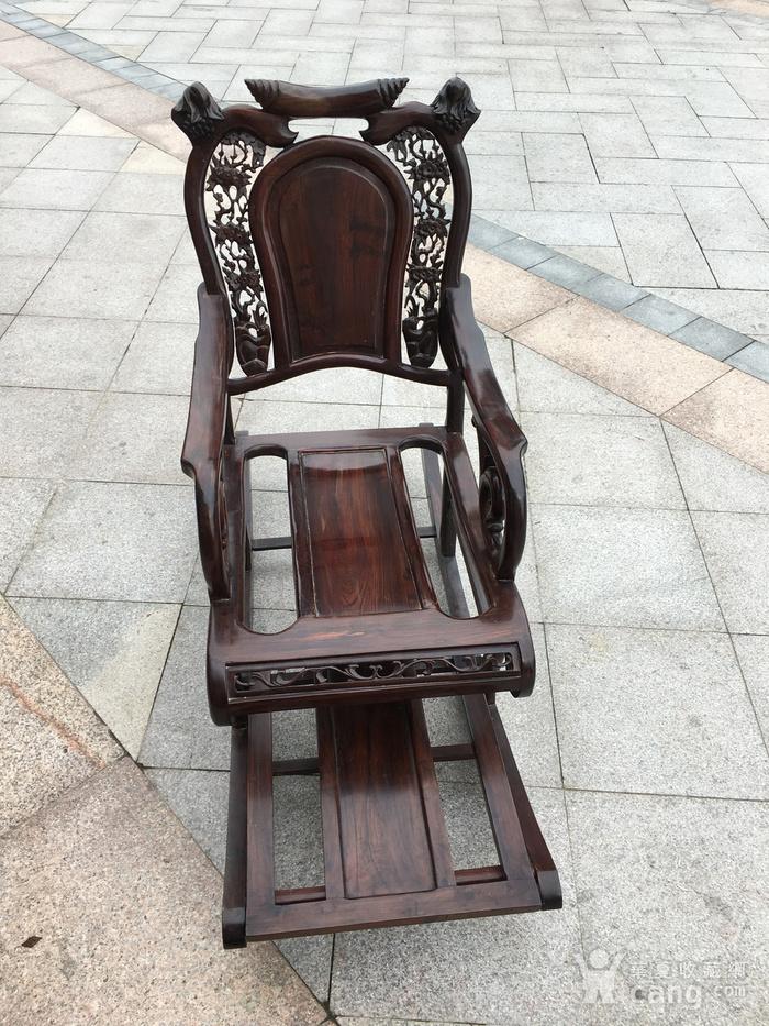 红酸枝摇椅图4