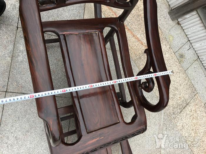 红酸枝摇椅图8