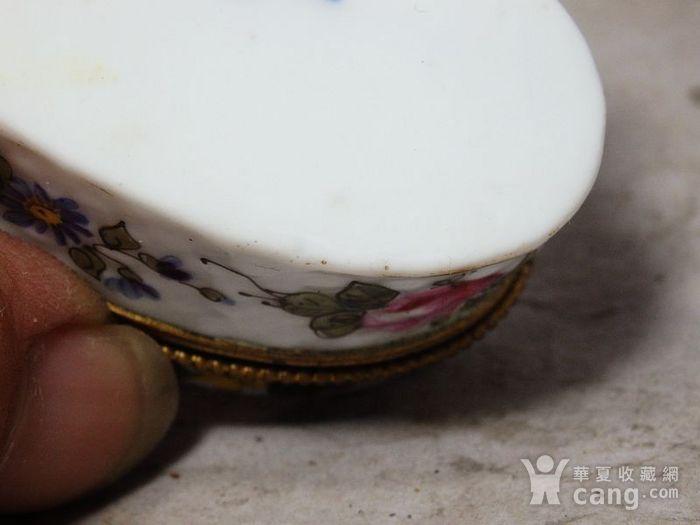 维多利亚时期粉彩心形首饰盒图6