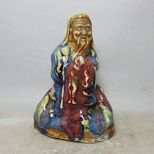 清代石湾窑人物塑像