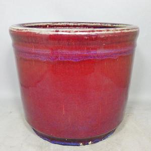 乾隆大号红釉筒式香炉