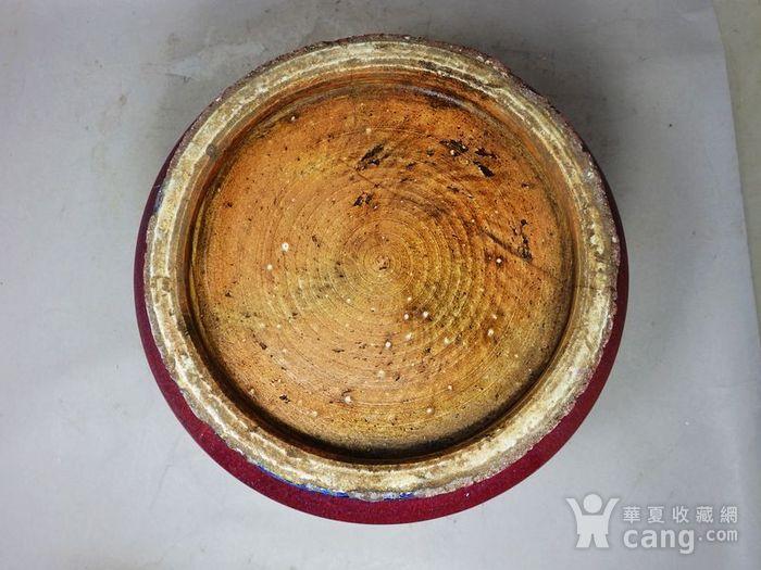 乾隆大号红釉筒式香炉图6
