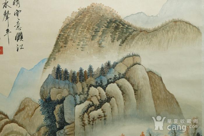 瑞典回流的名家郑午昌的山水画图4
