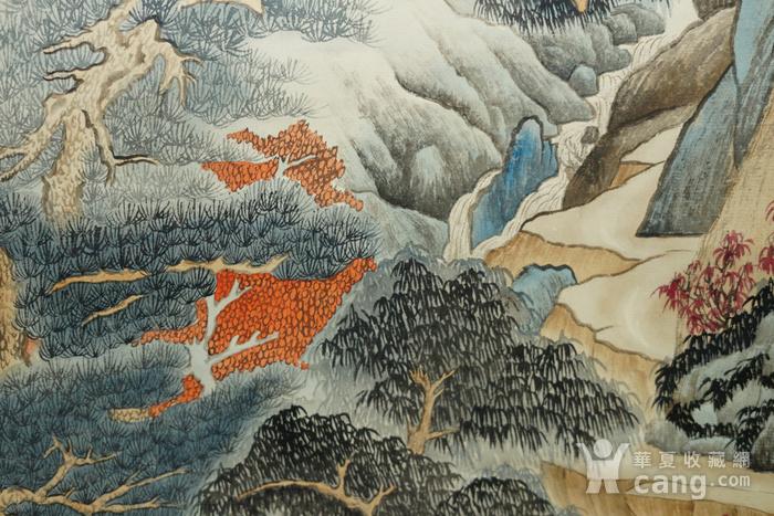 瑞典回流的名家郑午昌的山水画图7