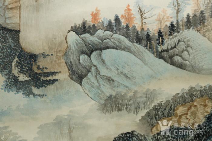 瑞典回流的名家郑午昌的山水画图9