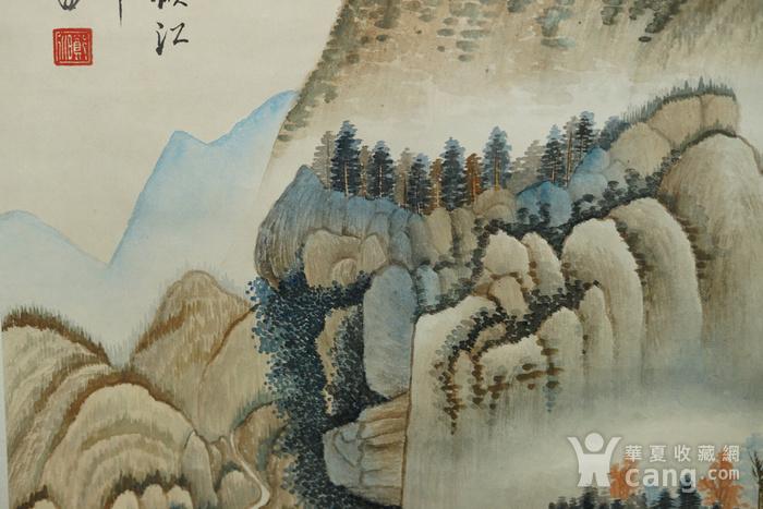 瑞典回流的名家郑午昌的山水画图12