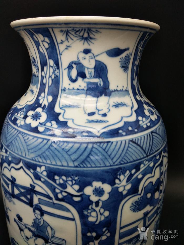 青花橄榄瓶图5