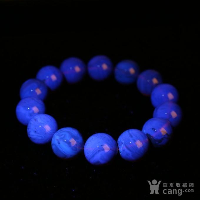 紫罗兰缅甸琥珀手串 9JW05图8