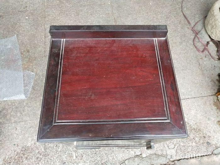 红酸枝床头柜图2