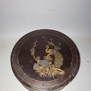 民国老漆器盒