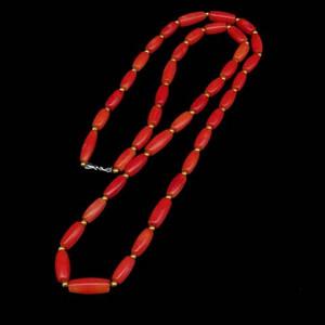 日本阿卡珊瑚米珠手链项链