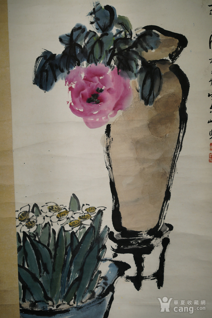 日本回流的上海画家朱屺瞻作品图5