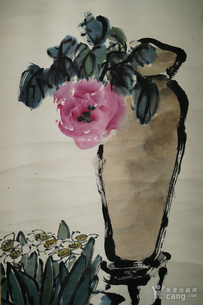 日本回流的上海画家朱屺瞻作品图7