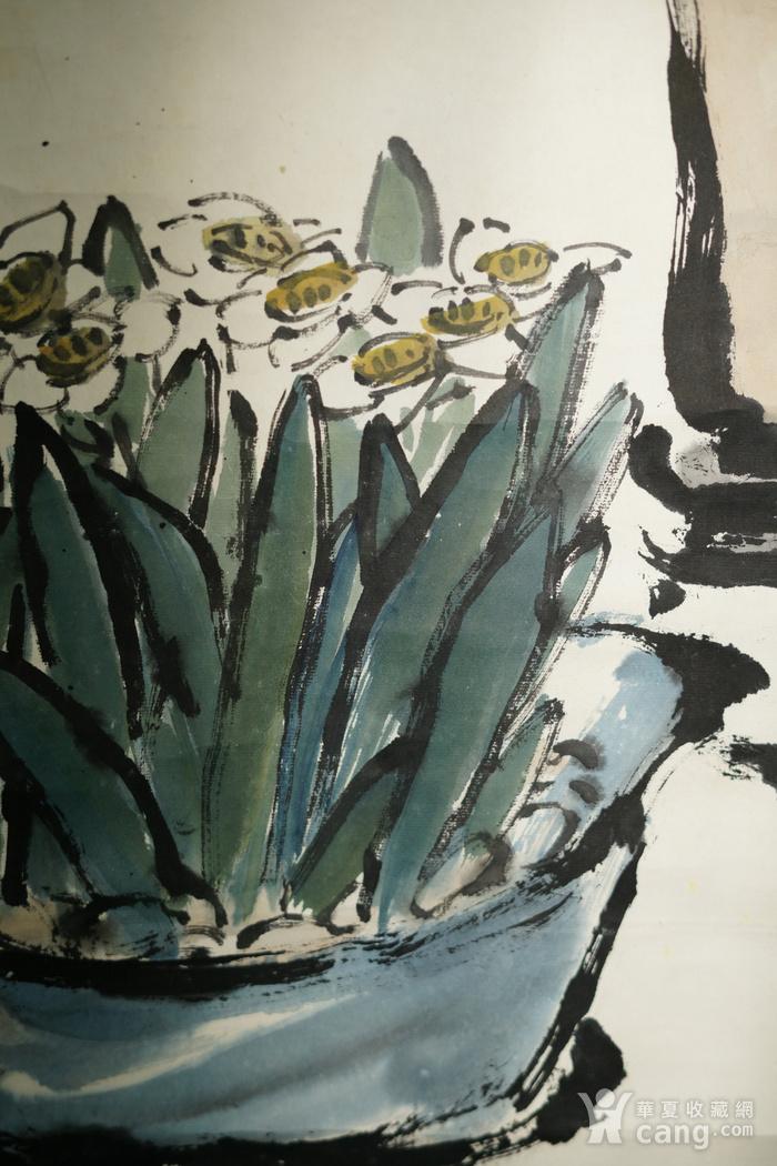 日本回流的上海画家朱屺瞻作品图8