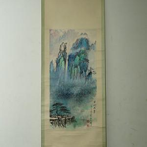 回流的老画家黄山