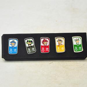 2008北京奥运会纪念章一套五枚