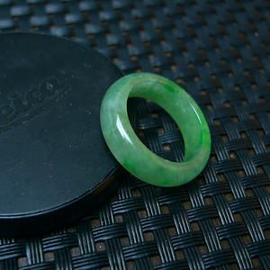 冰润满绿母子平安扣吊坠