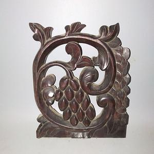 红酸枝雕刻板 特厚