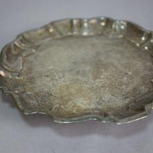 清代出口的银饰盘