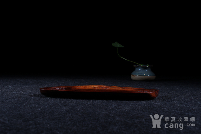 海南黄花梨精致杯托图3