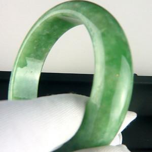 天然缅甸老坑A货翡翠手环