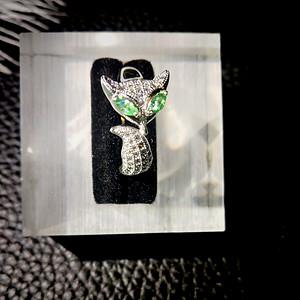天然祖母绿宝石戒指