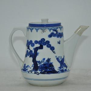 80 90年代青花瓷壶