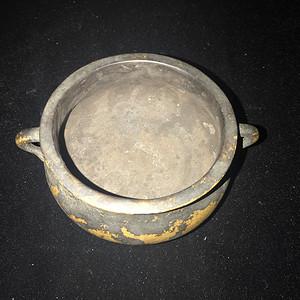 双龙铜香炉