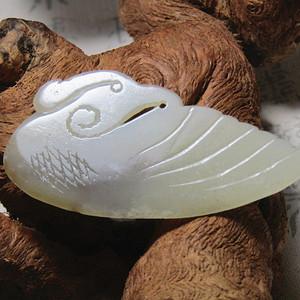 和田籽玉 挂件 玉质熟润 包浆浑厚