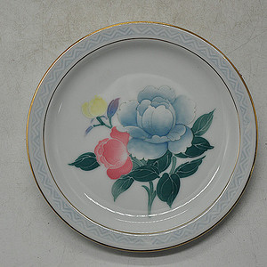 中国醴陵釉下彩小瓷盘