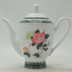 中国醴陵釉下彩大号瓷茶壶