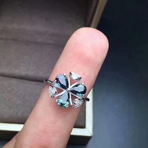 23 天然蓝宝石戒指 活口
