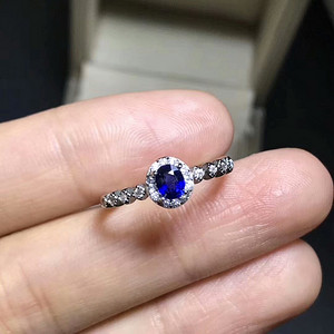 32 斯里兰卡皇家蓝蓝宝石戒指