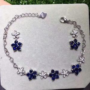 49 斯里兰卡蓝宝石套装