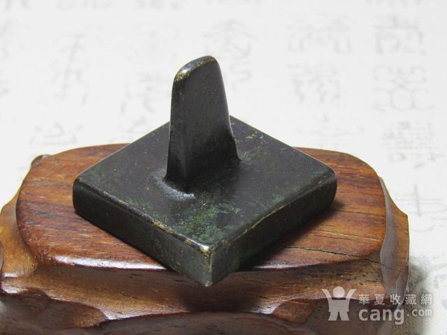 老铜 打造 方铜印 包浆厚重图4