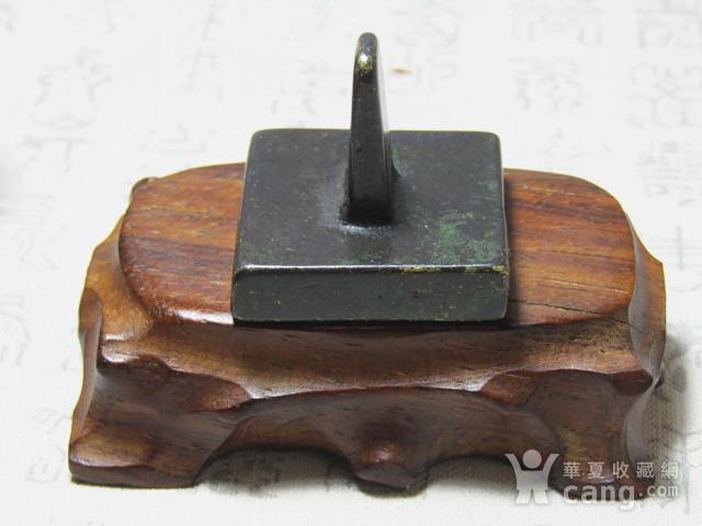 老铜 打造 方铜印 包浆厚重图6