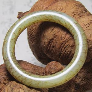 和田玉 袈裟环 包浆老厚