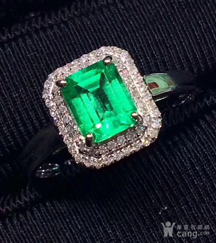 163 爆款纯天然哥伦比亚祖母绿宝石豪华套装图3