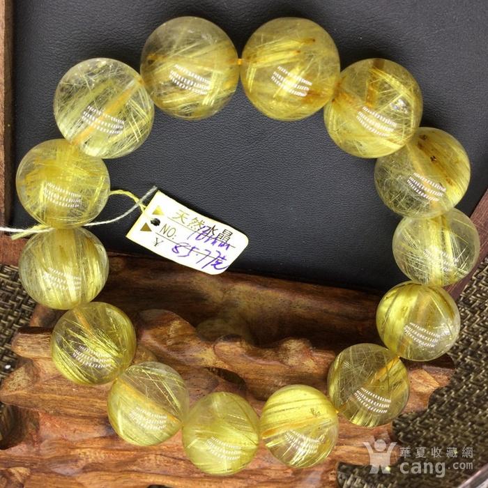 1 天然发晶手链 发晶钛晶手链图1