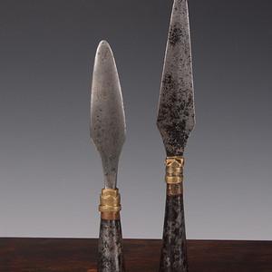 欧洲回流清藏文化兵器