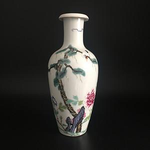 六字款花瓶