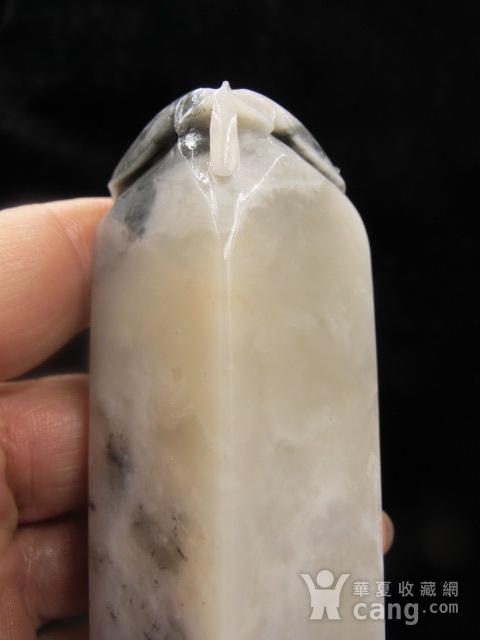 稀罕品种 寿山开门老矿巧色杜林冻石富甲天下大章图12